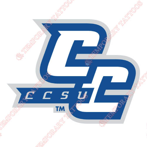 CCSU Blue Devils Customize Temporary Tattoos Stickers NO.4097