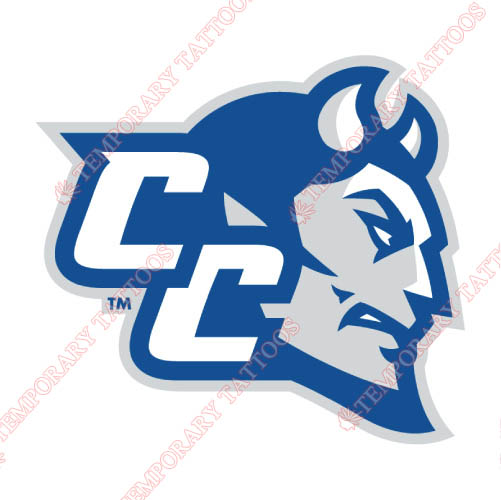 CCSU Blue Devils Customize Temporary Tattoos Stickers NO.4098