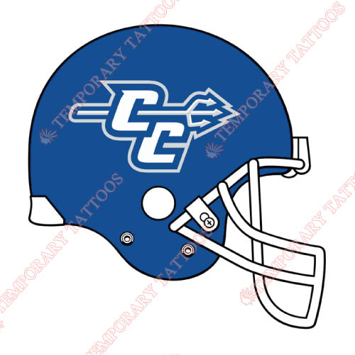 CCSU Blue Devils Customize Temporary Tattoos Stickers NO.4099