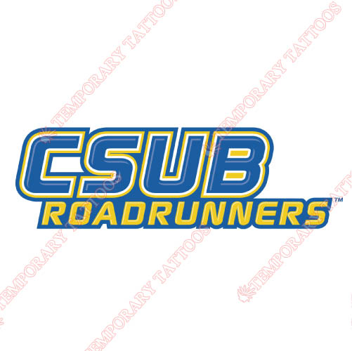 CSU Bakersfield Roadrunners Customize Temporary Tattoos Stickers N4058