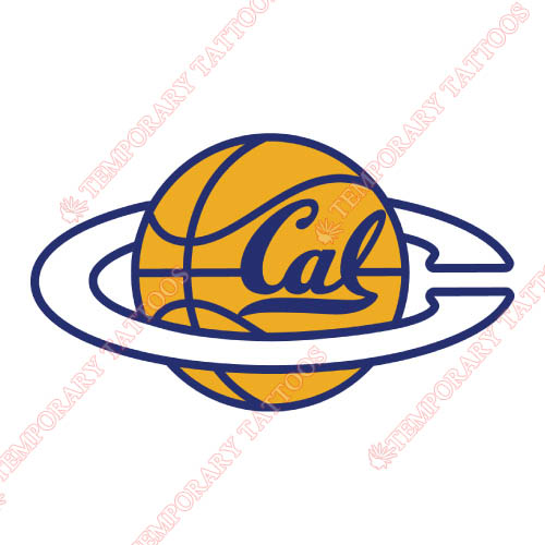 California Golden Bears Customize Temporary Tattoos Stickers NO.4074