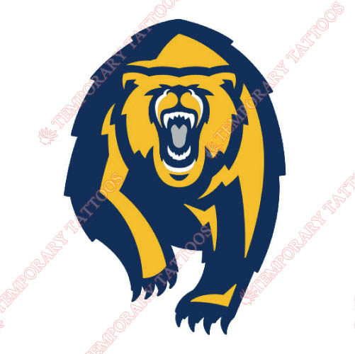 California Golden Bears Customize Temporary Tattoos Stickers NO.4075