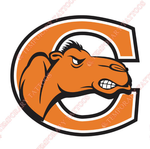 Campbell Fighting Camels Customize Temporary Tattoos Stickers NO.4089