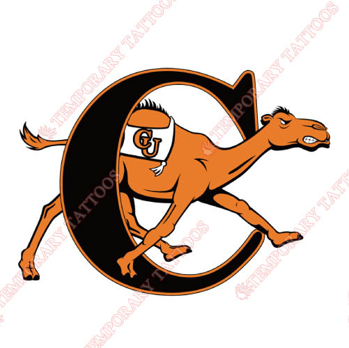 Campbell Fighting Camels Customize Temporary Tattoos Stickers NO.4090
