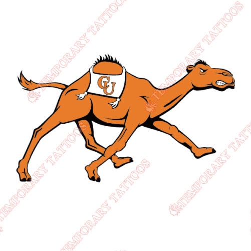 Campbell Fighting Camels Customize Temporary Tattoos Stickers NO.4092