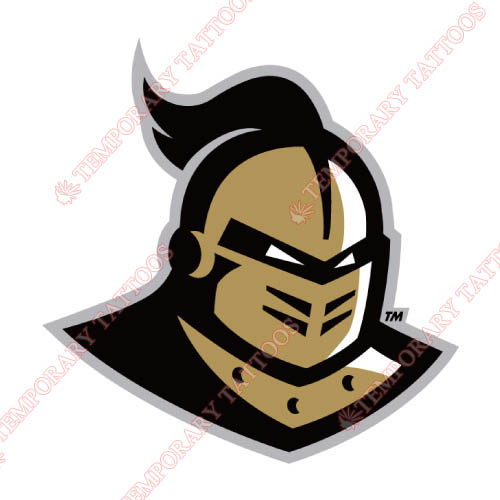 Central Florida Knights Customize Temporary Tattoos Stickers NO.4112