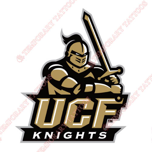 Central Florida Knights Customize Temporary Tattoos Stickers NO.4114