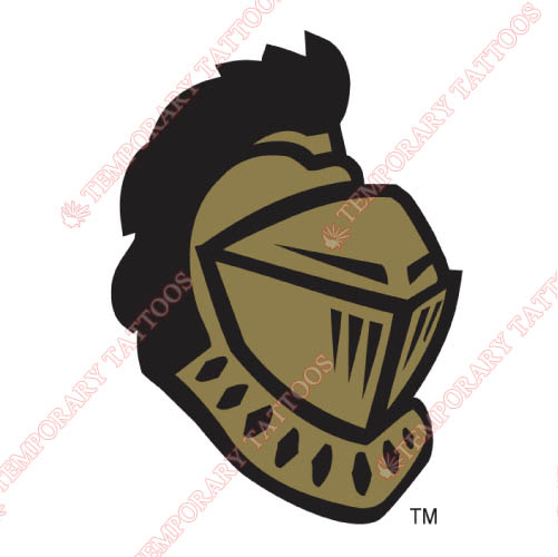 Central Florida Knights Customize Temporary Tattoos Stickers NO.4116