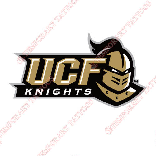Central Florida Knights Customize Temporary Tattoos Stickers NO.4119
