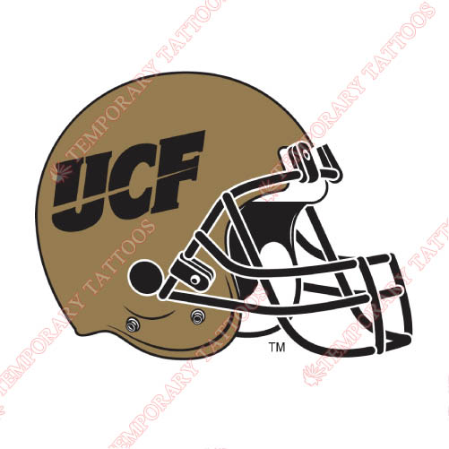 Central Florida Knights Customize Temporary Tattoos Stickers NO.4121