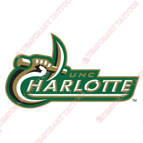 Charlotte 49ers Customize Temporary Tattoos Stickers NO.4132