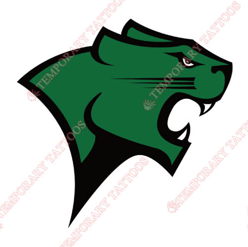 Chicago State Cougars Customize Temporary Tattoos Stickers NO.4140