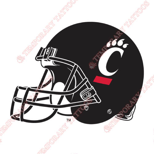 Cincinnati Bearcats Customize Temporary Tattoos Stickers NO.4145