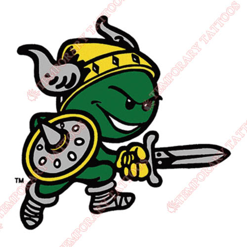 Cleveland State Vikings Customize Temporary Tattoos Stickers NO.4152