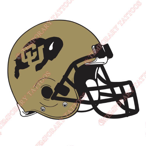 Colorado Buffaloes Customize Temporary Tattoos Stickers NO.4171