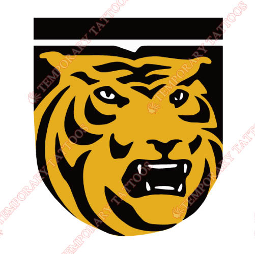 Colorado College Tigers Customize Temporary Tattoos Stickers NO.4174