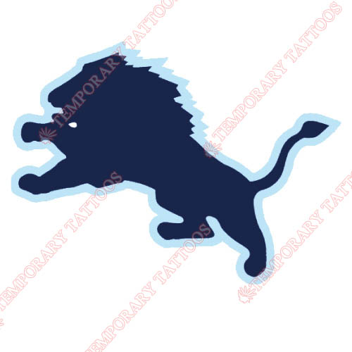 Columbia Lions Customize Temporary Tattoos Stickers NO.4185