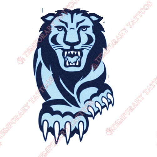 Columbia Lions Customize Temporary Tattoos Stickers NO.4186