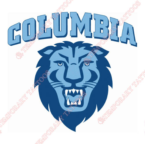 Columbia Lions Customize Temporary Tattoos Stickers NO.4187