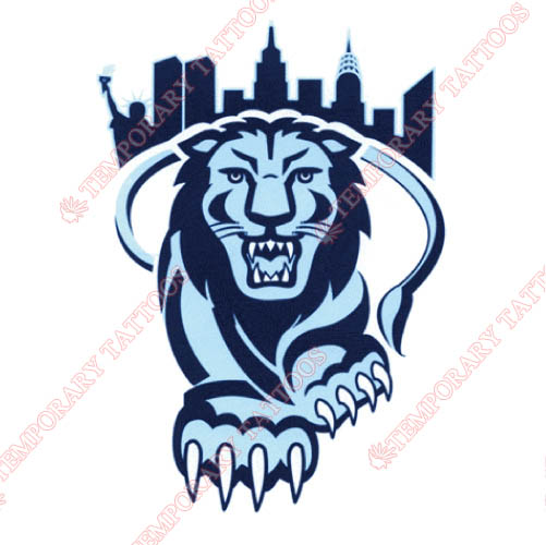 Columbia Lions Customize Temporary Tattoos Stickers NO.4188