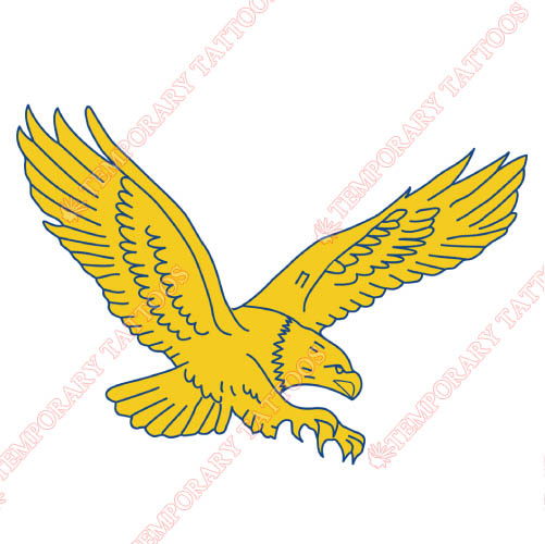 Coppin State Eagles Customize Temporary Tattoos Stickers NO.4190
