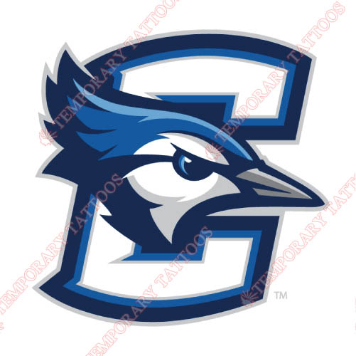 Creighton Bluejays Customize Temporary Tattoos Stickers NO.4199