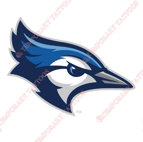 Creighton Bluejays Customize Temporary Tattoos Stickers NO.4200