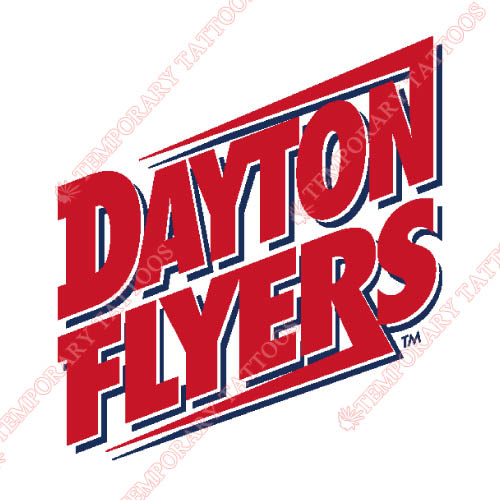 Dayton Flyers Customize Temporary Tattoos Stickers NO.4223