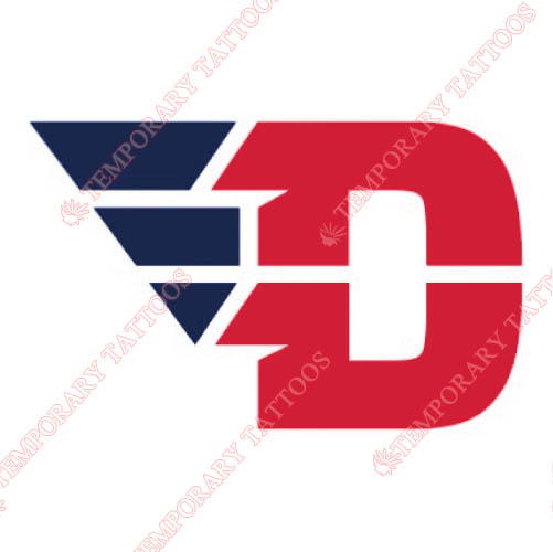 Dayton Flyers Customize Temporary Tattoos Stickers NO.4224