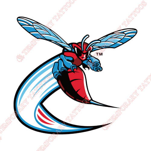 Delaware State Hornets Customize Temporary Tattoos Stickers NO.4244