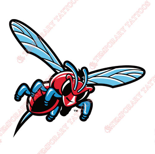 Delaware State Hornets Customize Temporary Tattoos Stickers NO.4245