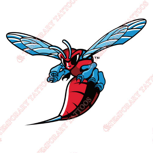Delaware State Hornets Customize Temporary Tattoos Stickers NO.4251