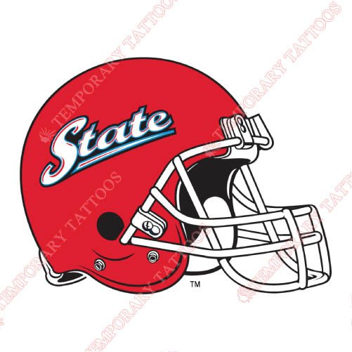 Delaware State Hornets Customize Temporary Tattoos Stickers NO.4253