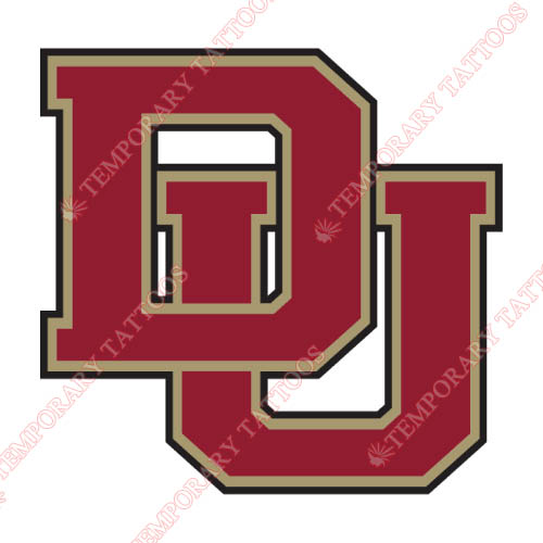 Denver Pioneers Customize Temporary Tattoos Stickers NO.4254
