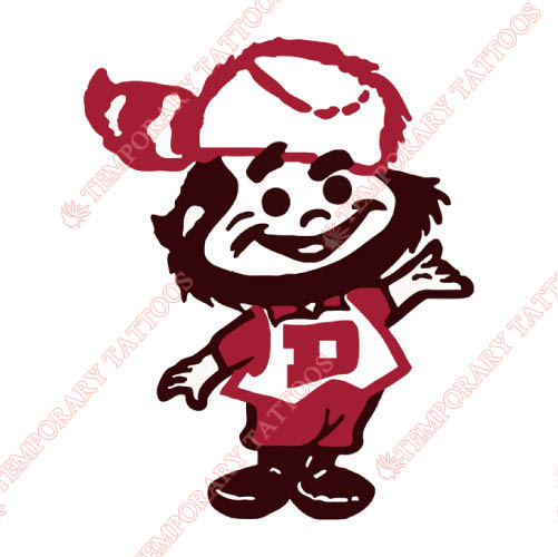 Denver Pioneers Customize Temporary Tattoos Stickers NO.4258