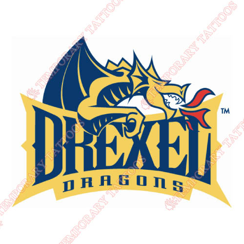 Drexel Dragons Customize Temporary Tattoos Stickers NO.4278