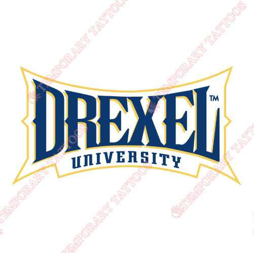 Drexel Dragons Customize Temporary Tattoos Stickers NO.4280