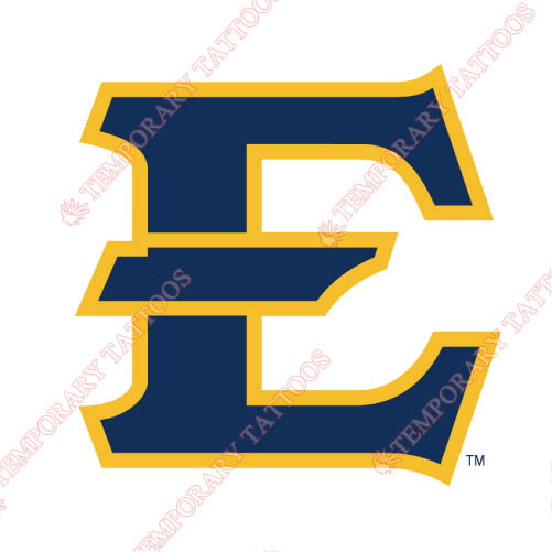 ETSU Buccaneers Customize Temporary Tattoos Stickers NO.4345