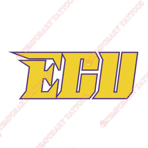 East Carolina Pirates Customize Temporary Tattoos Stickers NO.4306