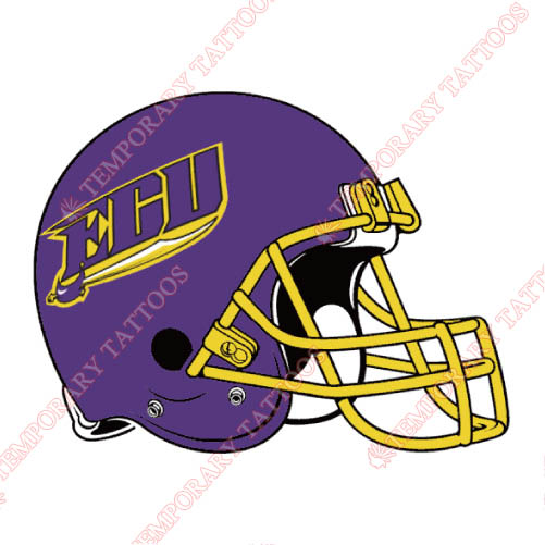 East Carolina Pirates Customize Temporary Tattoos Stickers NO.4313