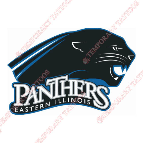 Eastern Illinois Panthers Customize Temporary Tattoos Stickers NO.4316