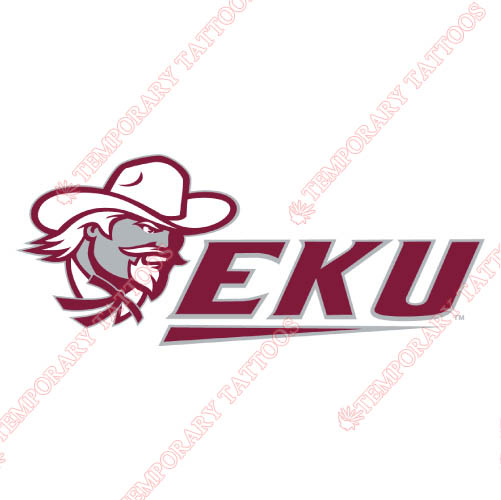 Eastern Kentucky Colonels Customize Temporary Tattoos Stickers NO.4321