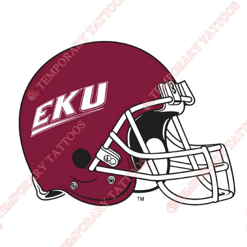 Eastern Kentucky Colonels Customize Temporary Tattoos Stickers NO.4322