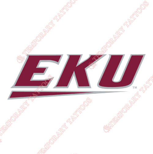 Eastern Kentucky Colonels Customize Temporary Tattoos Stickers NO.4323