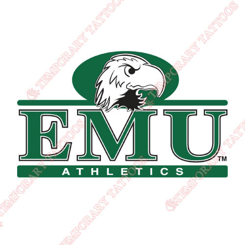 Eastern Michigan Eagles Customize Temporary Tattoos Stickers NO.4324