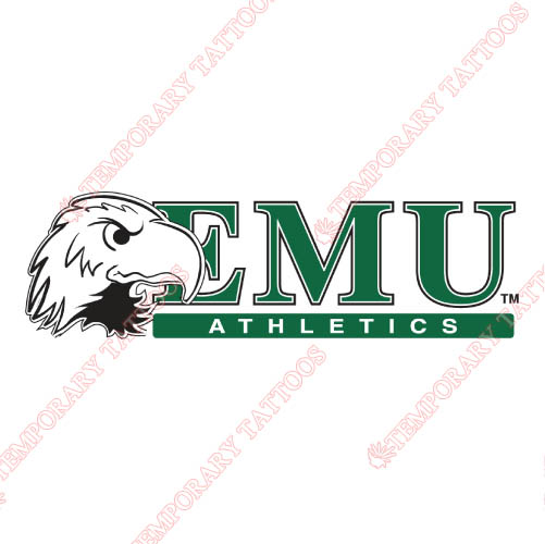 Eastern Michigan Eagles Customize Temporary Tattoos Stickers NO.4325