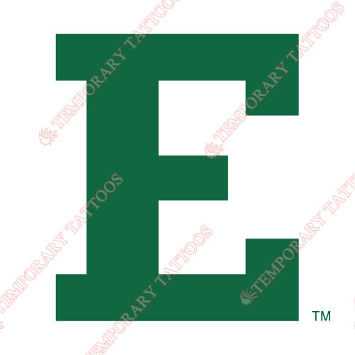 Eastern Michigan Eagles Customize Temporary Tattoos Stickers NO.4326