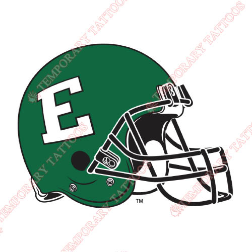 Eastern Michigan Eagles Customize Temporary Tattoos Stickers NO.4329