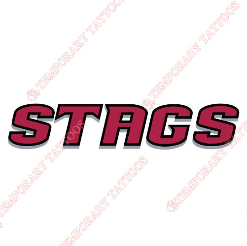 Fairfield Stags Customize Temporary Tattoos Stickers NO.4357