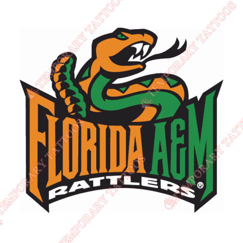 Florida A M Rattlers Customize Temporary Tattoos Stickers NO.4369